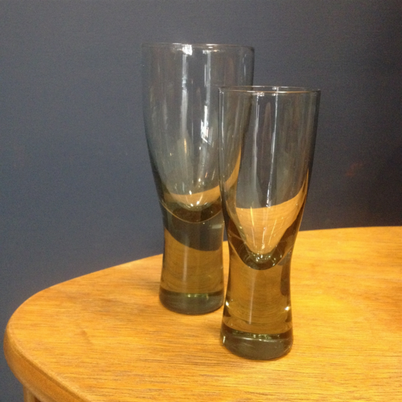 1950S HOLMEGAARD PORT GLASSES BY PER LUTKEN, 'CANADA DESIGN'