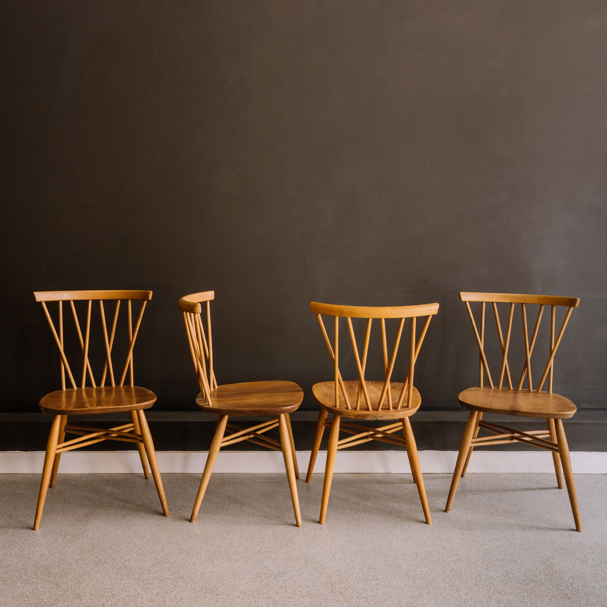 Ercol Candlestick Chairs