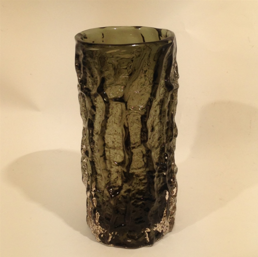 Whitefriars Glass Bark Vase
